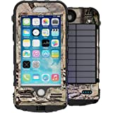 Snow Lizard Products Solar Charge, Waterproof Battery Case for iPhone 7 - Mossy Oak Break Up Country
