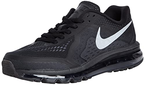 best service 5c494 0e2ce Nike Air MAX 2014 Running Hombres Zapatos de tamaño, Negro (Black/Reflect  Silver-Anthrct-Dark Grey), 8,5 D(M) US: Amazon.es: Zapatos y complementos