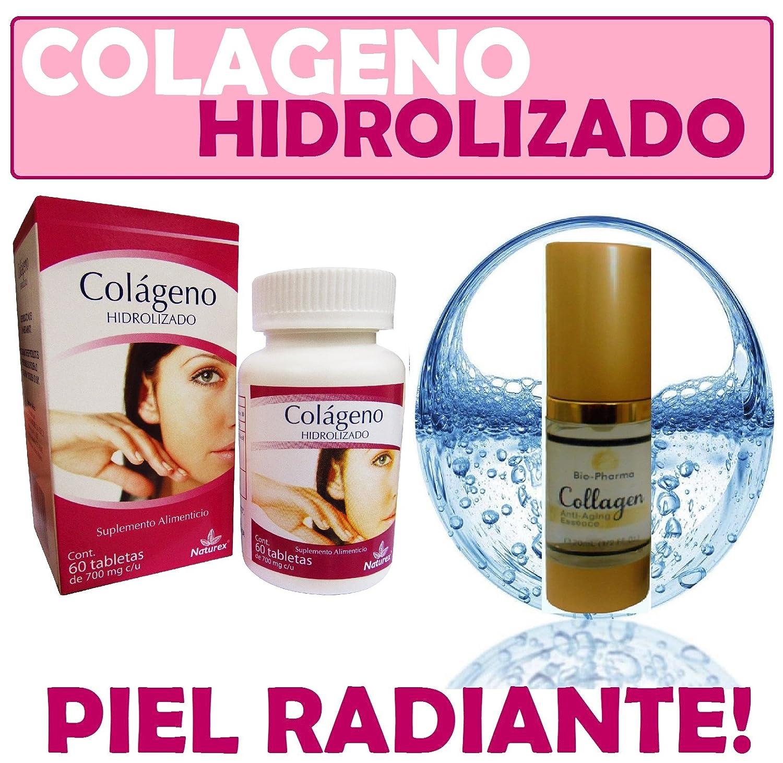 Amazon.com: Colageno Hidrolizado Capsulas and Collagen Esencia Colageina 10 60 Capsulas: Health & Personal Care