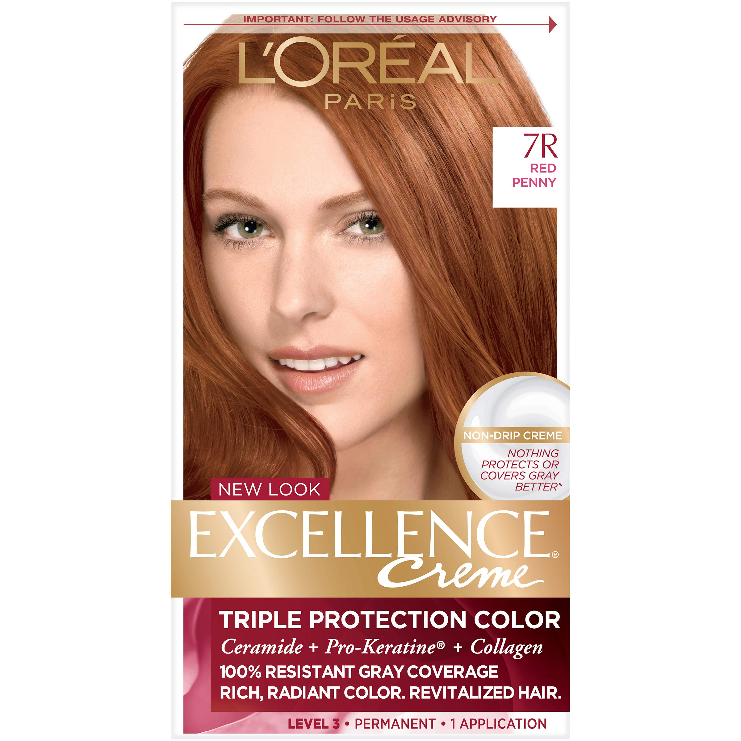 Amazon Loreal Paris Excellence Creme Triple Protection Color