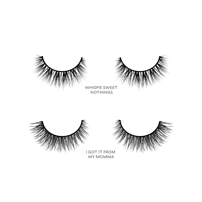 Amazon Velour Lashes Monolid Eye Shape Kit 2 Pairs Of Mink