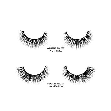 ffd1bf1f7a4 Amazon.com : Velour Lashes - Monolid Eye Shape Kit (2 Pairs of Mink ...
