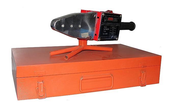 Polifusor Soldador 2660 W, 7 troqueles para soldar tuberías, plástico, policloruro de vinilo, polifluoruro de vinilideno: Amazon.es: Bricolaje y ...