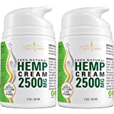 Hemp Cream by New Age - Help Relieve Discomfort in Knees, Joints, and Lower Back - Natural Hemp Extract Cream - Made in USA -