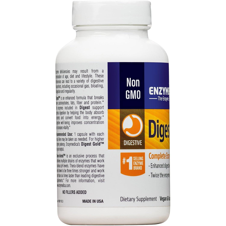 Amazon Enzymedica Digest Complete Digestive Enzyme Formula
