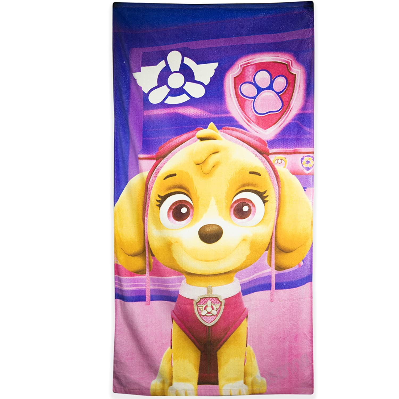 Nickelodeon Paw Patrol Childrens Kids Girls Skye Everest Bath Beach Towel 100% Cotton 70 X 140 CM - 1
