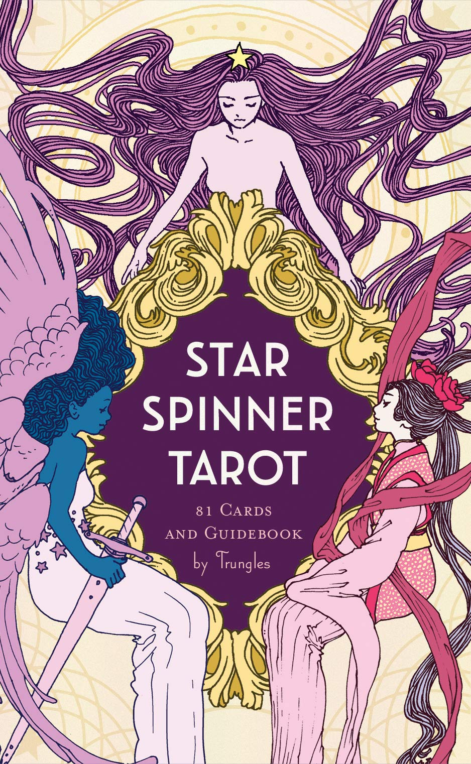 Star Spinner Tarot: (Inclusive, Diverse, LGBTQ Deck of Tarot Cards, Modern  Version of Classic Tarot Mysticism): Trungles: 9781452180069: Amazon.com:  Books