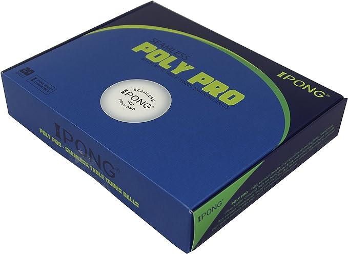 Pack of 6 3-star 40+mm Table Tennis Ball Advanced Training  Pong Balls