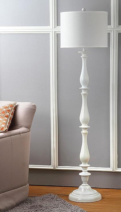 Amazon Com Safavieh Lighting Collection Bessie Candlestick White 62