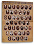 Educational Classroom Learning Chart - United States Presidents - 22x17 Inches - Folded