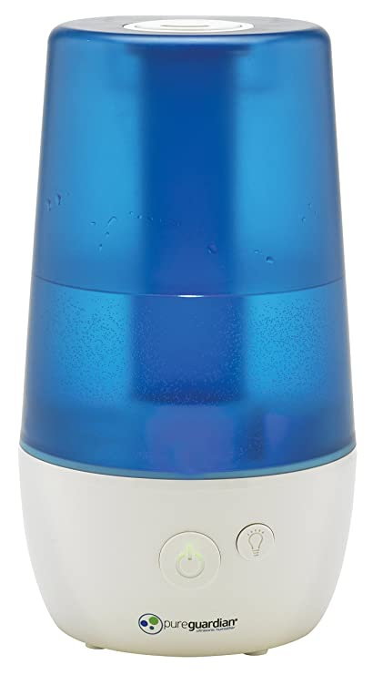 PureGuardian H965 Ultra-Quiet Ultrasonic Cool Mist Humidifier - 3.6L Capacity, 70-