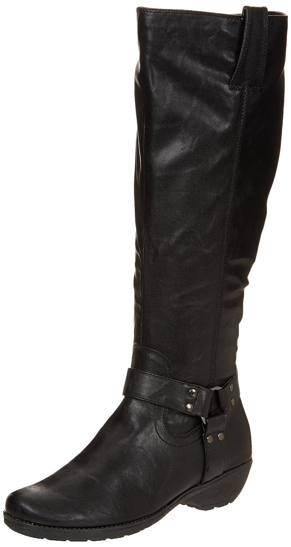 Amazon.com | Aerosoles Women's In An Instint Harness Boot, Black, 6 W US |  Knee-High