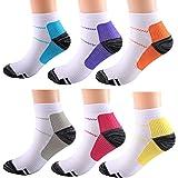 Apluschoice Compression Socks for Women & Men Circulation 15-20 mmHg is Best for Running, Flight Travel, Cycling
