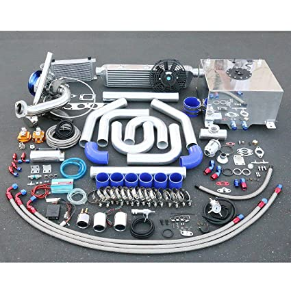 Amazon.com: For Acura RSX/Honda Civic DC5 K20 High Performance 25pcs T04E Turbo Cast Manifold Upgrade Installation Kit: Automotive