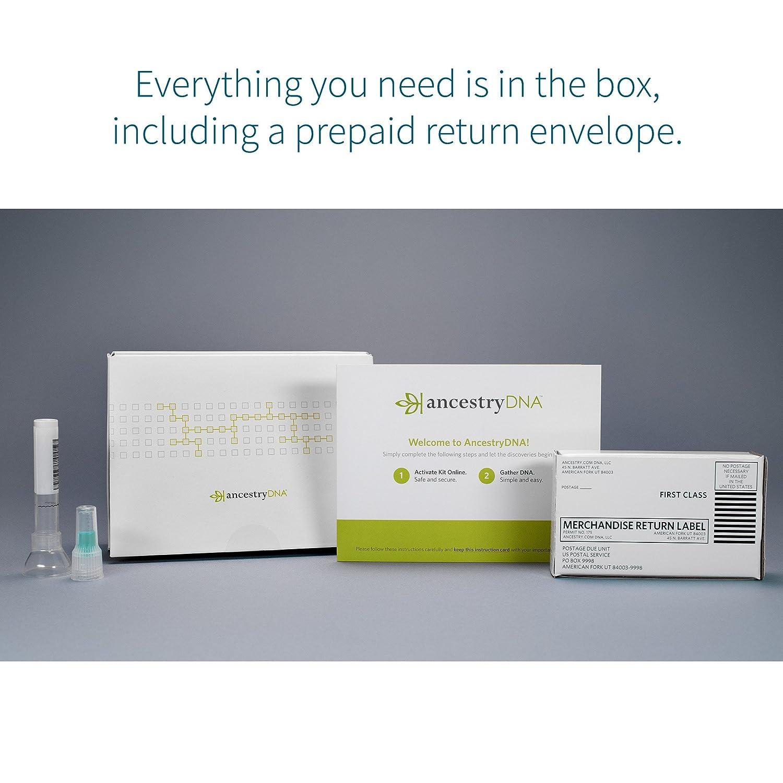 Ancestrydna Genetic Testing Dna Ancestry Test Kit Amazon In
