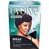 Evolve Wrap Scarf, Black