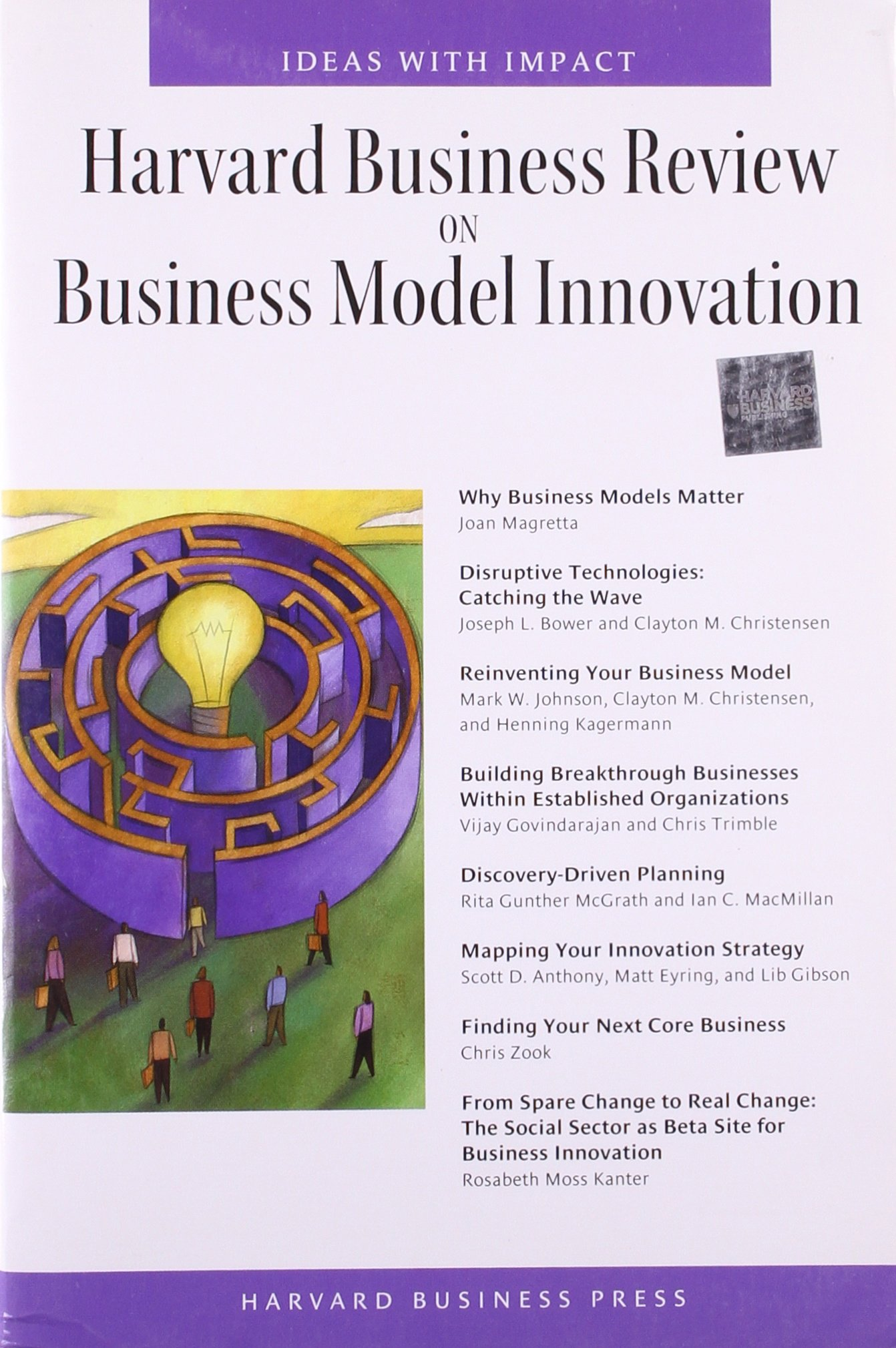 Download Harvard Business Review on Business Model Innovation (Harvard Business Review Paperback Series) pdf
