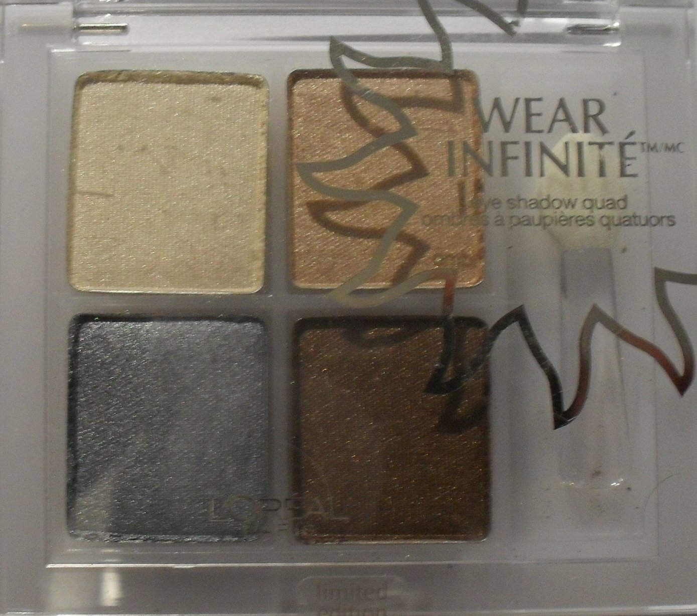 L'OREAL WEAR INFINITE EYE SHADOW QUAD #842 AQUATIC ESCAPE B0055SDE3M