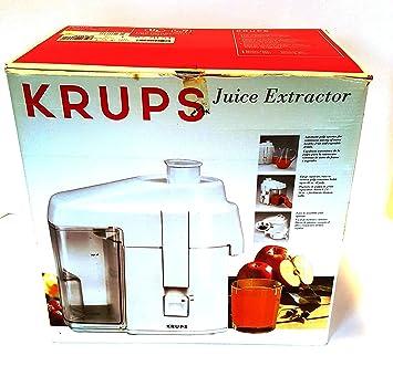 amazon com krups 267 70 juice extractor electric centrifugal rh amazon com Krups Juicer Stainless Steel krups juicer type 267 manual