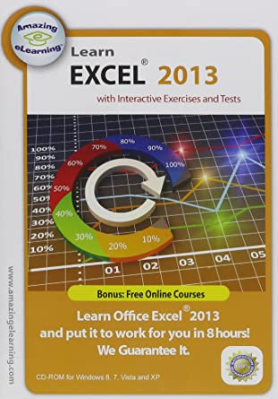 Amazon.com: Learn Microsoft Excel 2013 Interactive Training CD Course