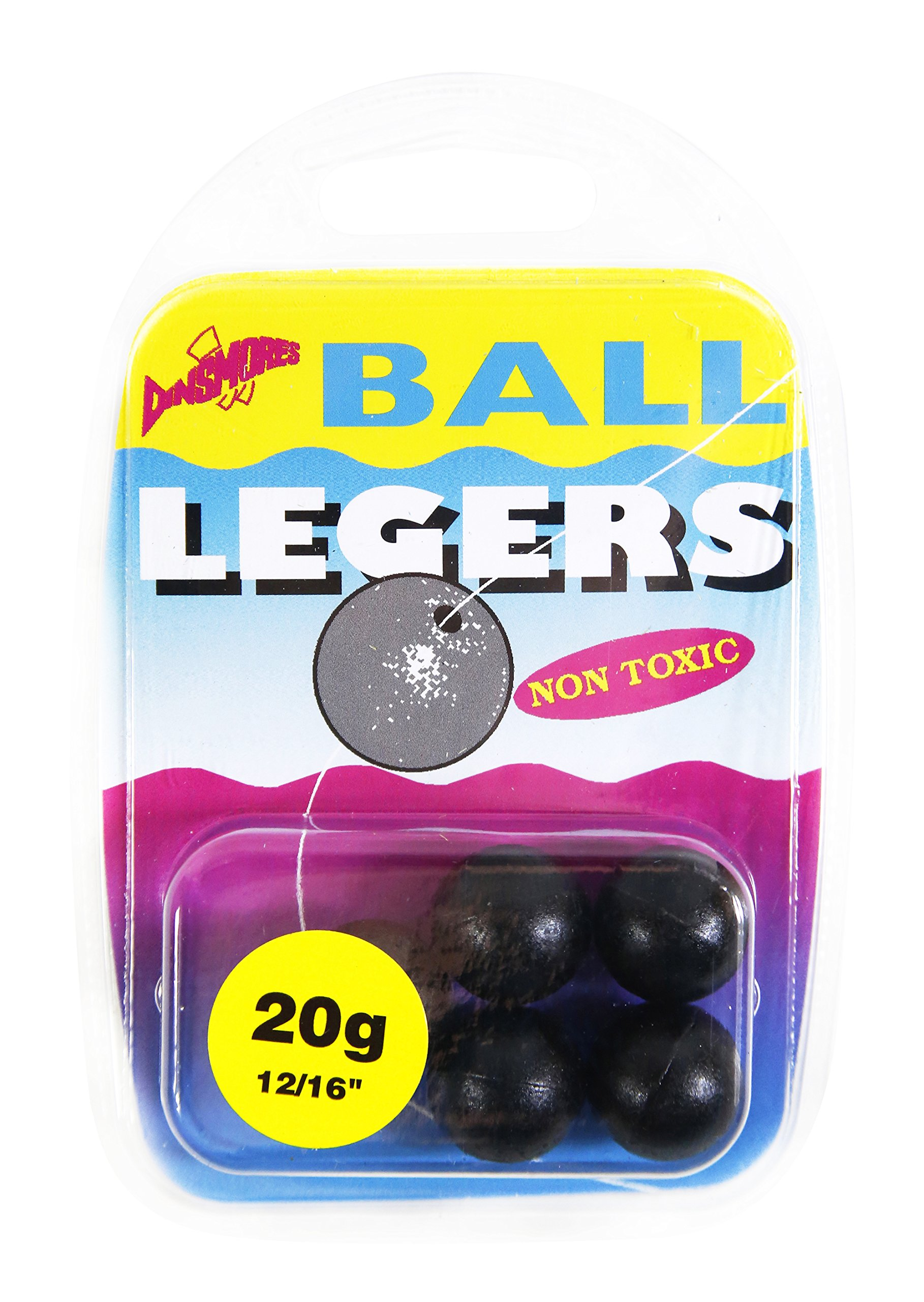 Coarse Fishing Weights Dinsmores Ball Legers