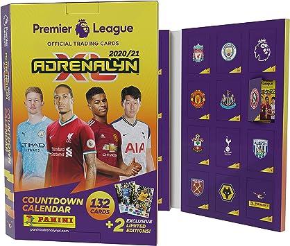 Panini- Premier League 2020/21 Adrenalyn XL - Calendario de Cuenta atrás (PLA2021AC): Amazon.es: Juguetes y juegos
