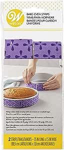 Wilton 2-Piece Bake Even Strip Set, Purple (415-0795)