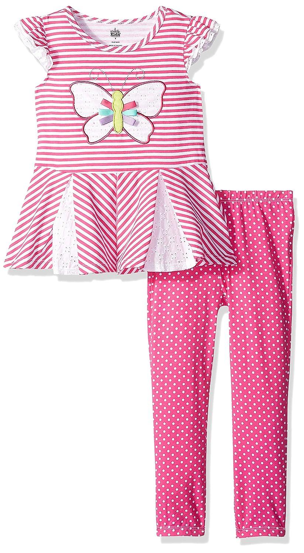 Kids Headquarters Girls Toddler 2 Pieces Legging Set