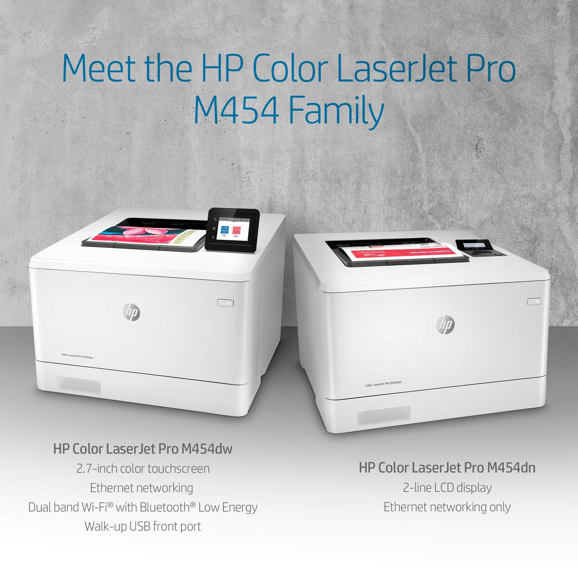 HP Color LaserJet Pro M454dw Printer (W1Y45A) by HP (Image #5)
