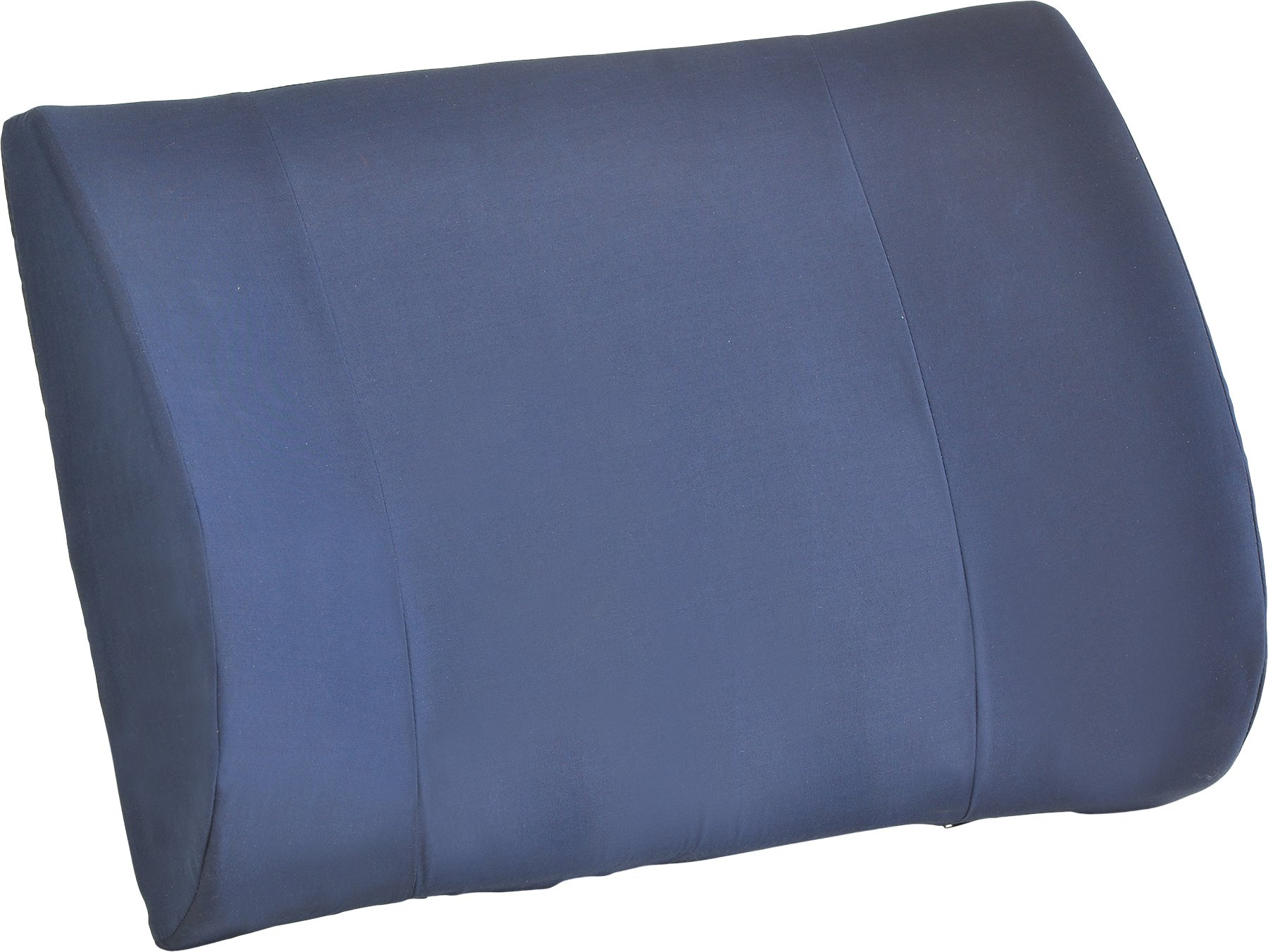 NOVA Medical Products Wide Lumbar Cushion, Blue, 1.50 Pound