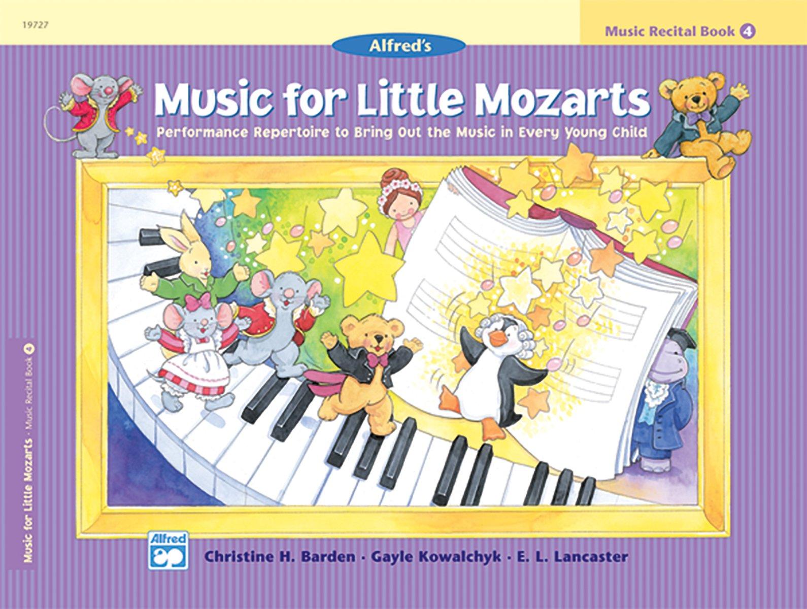 Music for Little Mozarts Recital Book, Bk 4: Performance