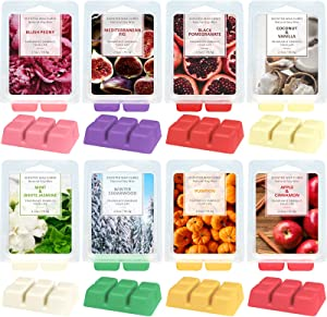LA BELLEFÉE LA BELLEFÉE Scented Wax Melts,Wax Cubes, Wax Melts for Warmer, Wax Cubes 8 Fragrance, 8x2.5oz