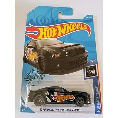 Hot Wheels 2020 Hw Race Team '10 Ford Shelby GT500 Super Snake, 192/250 Black: Toys & Games