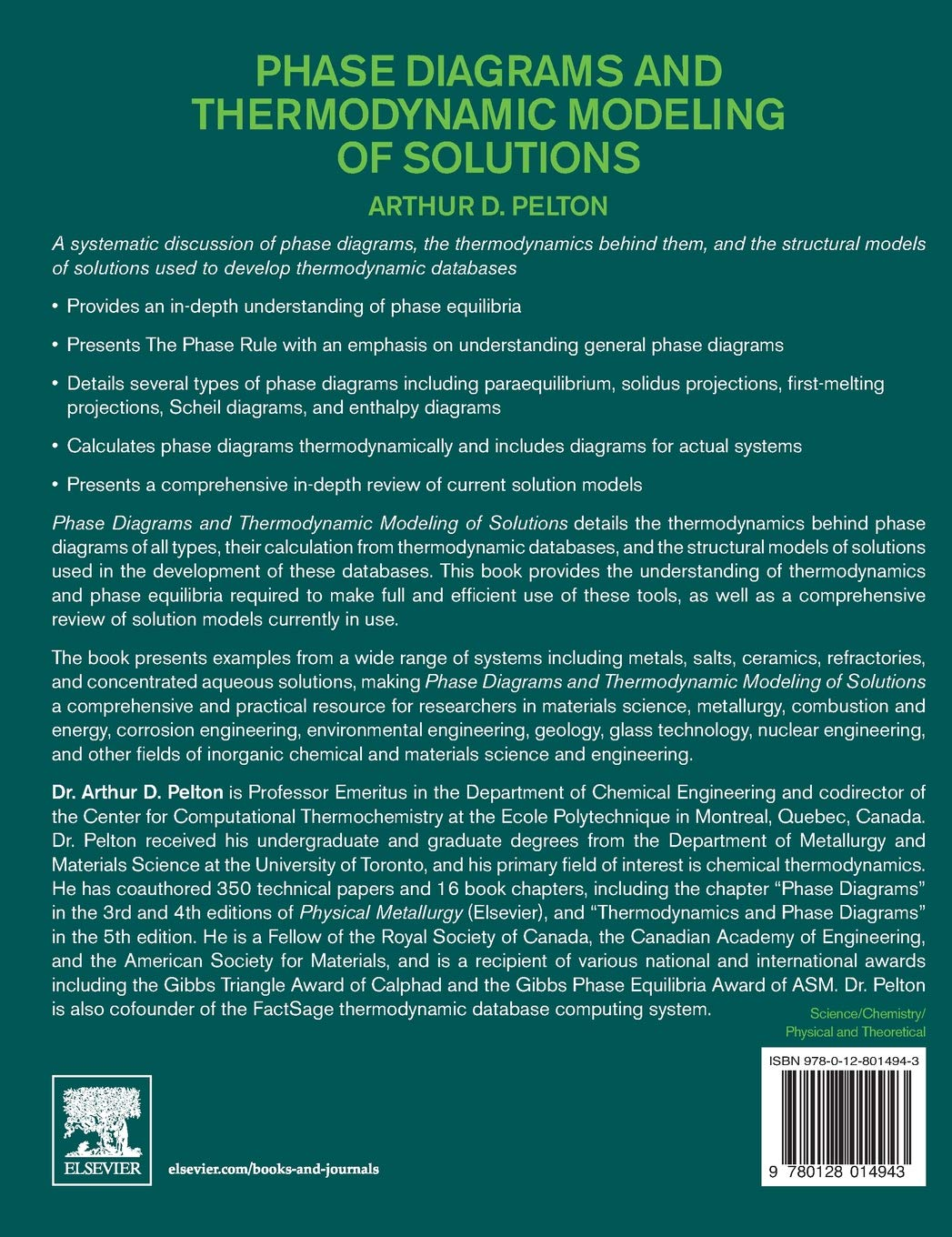 amazon phase diagrams and thermodynamic modeling of solutions