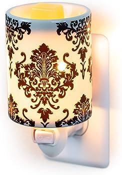 Plug-In Fragrance Wax Melt Warmers (Damask)