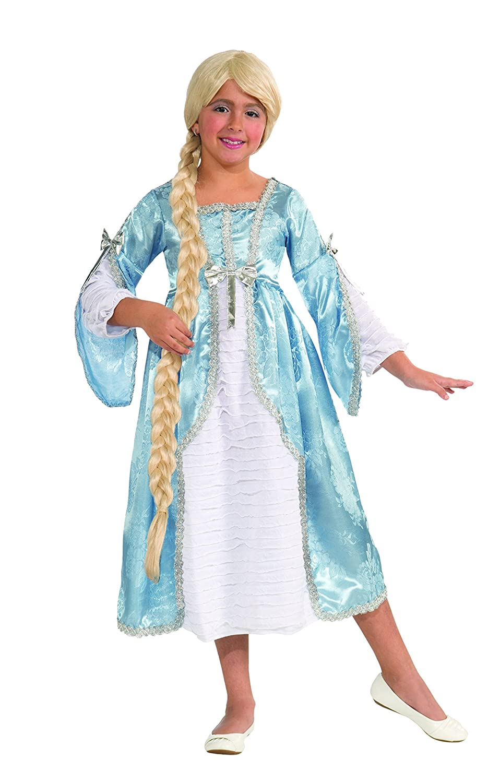 Forum Novelties Fairy Tale Favorites Princess of The Tower Costume Dress, Child Large