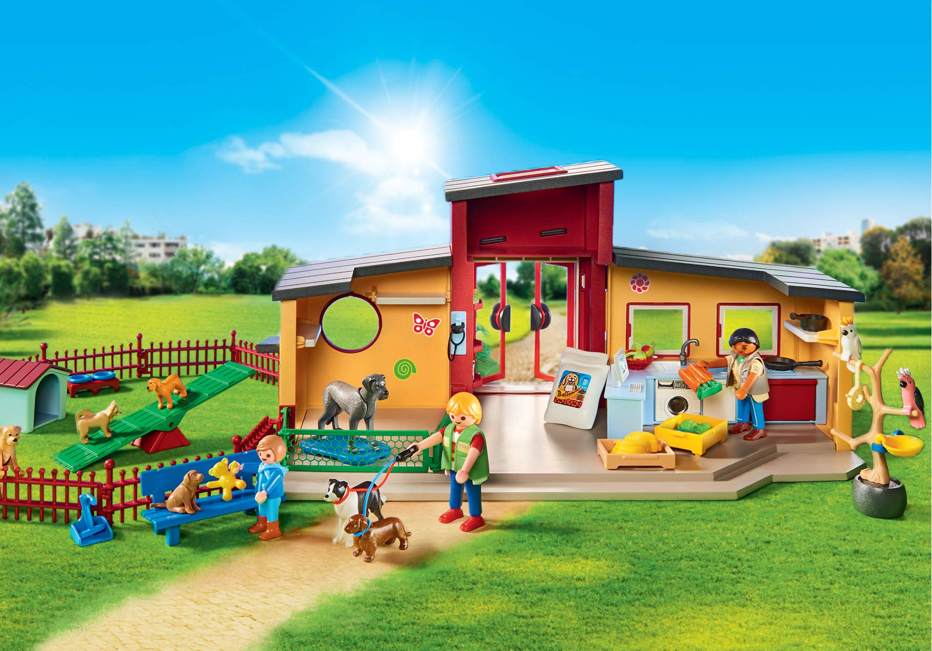 PLAYMOBIL® Tiny Paws Pet Hotel Multicolor by PLAYMOBIL® (Image #3)
