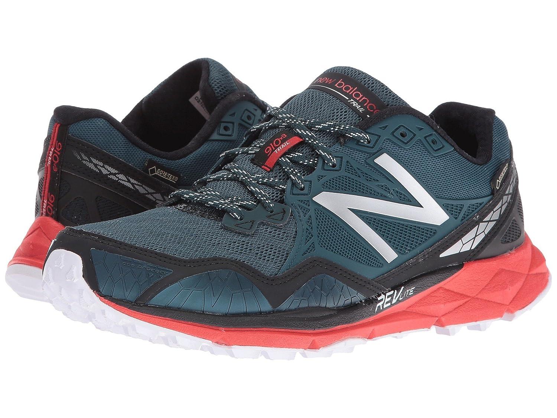 (ニューバランス) New Balance メンズランニングシューズスニーカー靴 910v3 GORE-TEX Green/Red 8.5 (26.5cm) D - Medium B0788QRLGG