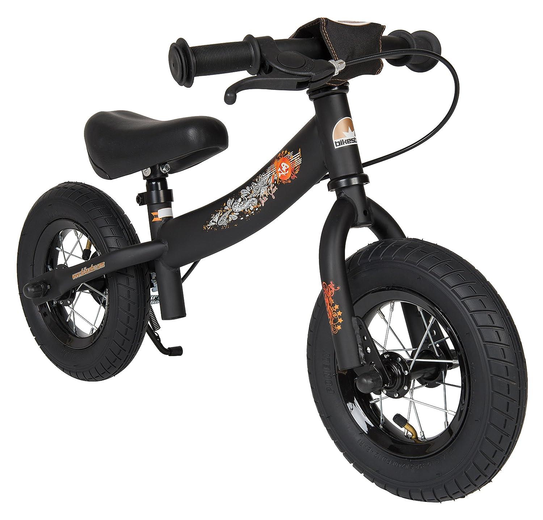 Bikestar - Bicicleta de Equilibrio para niños de 2 años con neumáticos de Aire y Frenos, 10 Pulgadas, edición Deportiva, Color Negro: Amazon.es: Juguetes y ...