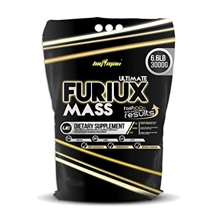 Big Man Nutrition Ultimate Furiux Mass Suplementos Cookies - 3000 gr