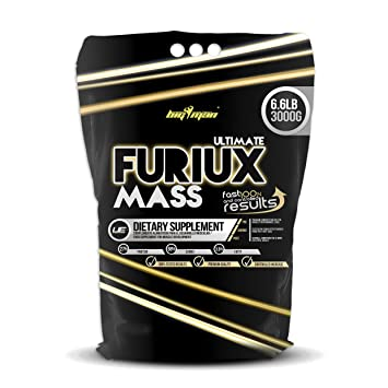 Big Man Nutrition Ultimate Furiux Mass Suplementos Cookies - 3000 gr: Amazon.es: Salud y cuidado personal