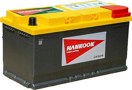 Hankook 12V 95Ah Batterie Décharge Lente Pour Loisir