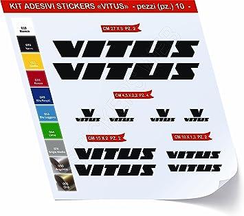Pegatinas Bicicleta Vitus Kit Pegatinas Stickers 10 Piezas – Elige ...