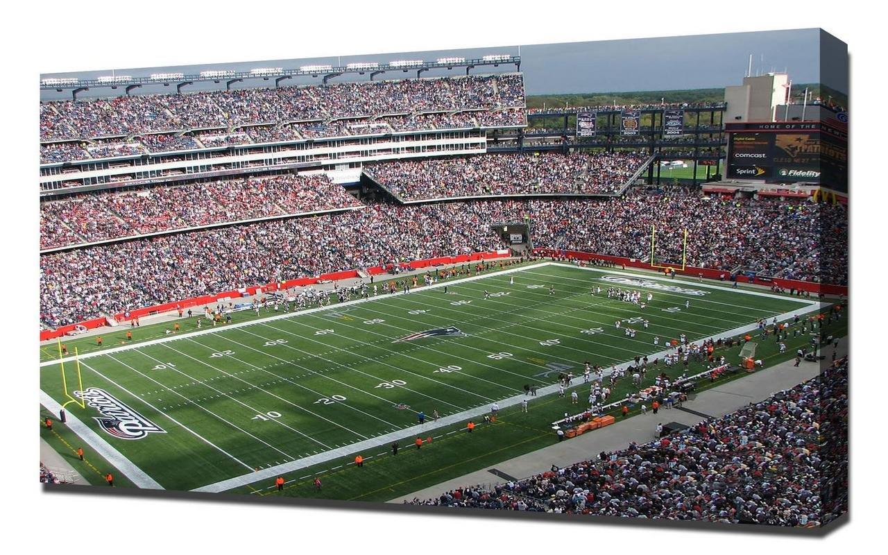 Lilarama USA New England Patriots Gillette Stadium 2 - Canvas Art Print - Wall Art - Canvas Wrap