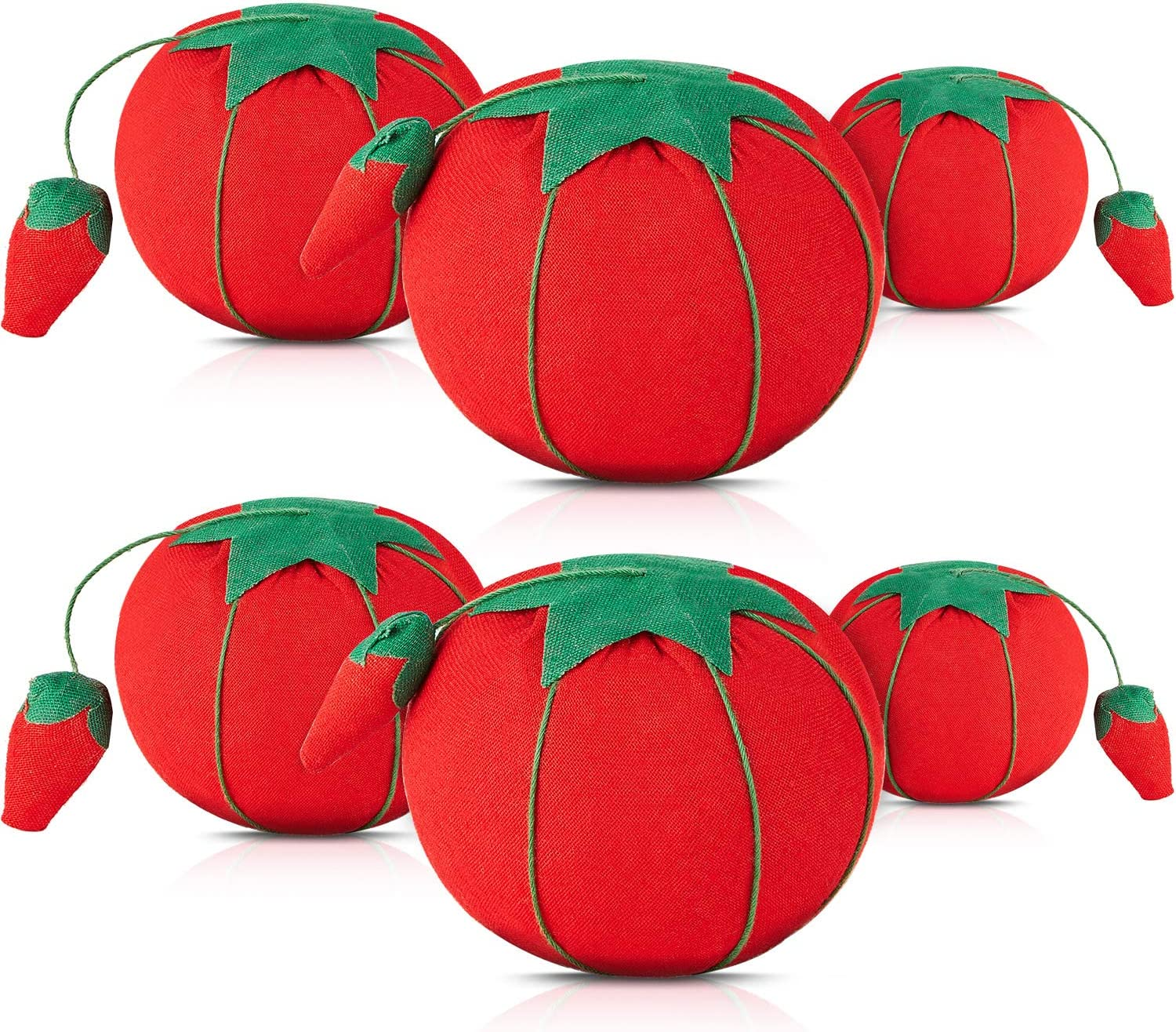 Large Tomato Pin Cushion Fast Shipping DRITZ