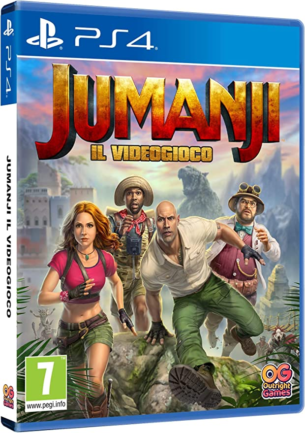 Jumanji: Il Videogioco - PlayStation 4 [Importación italiana ...