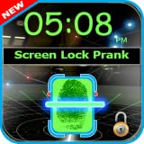 Fingerprint screen locker