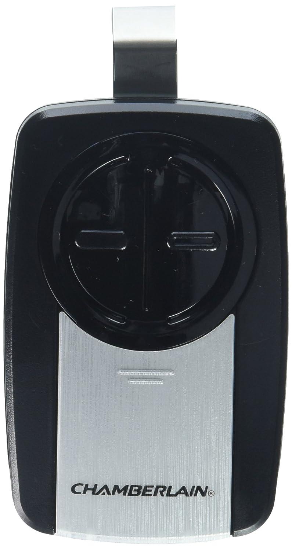 Chamberlain Group KLIK3U-SS Chamberlain 2-Button Garage Door Opener Remote with Visor Clip, Silver