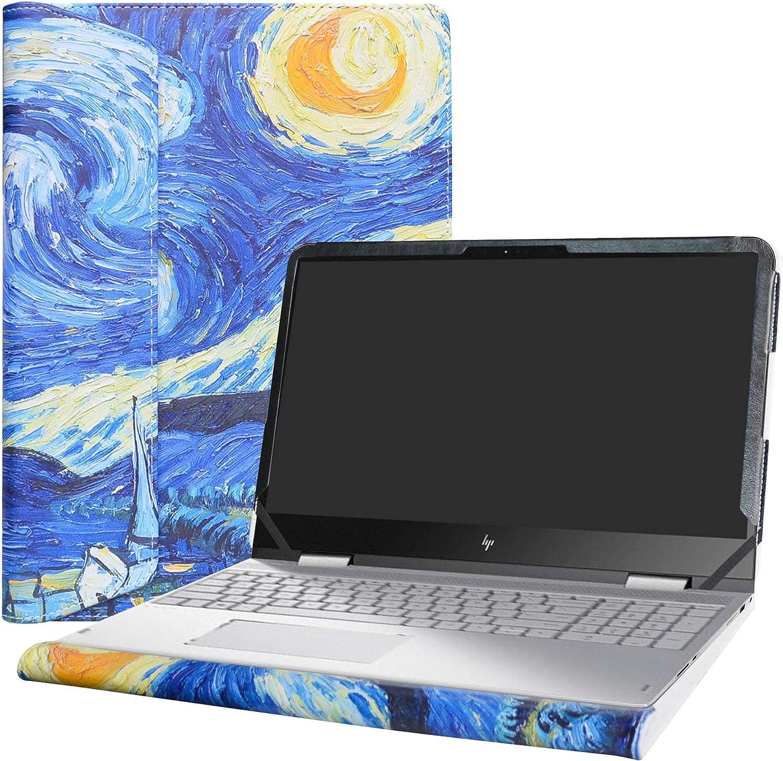 "Alapmk Protective Case Cover For 15.6"" HP Envy X360 15 15-wXXX 15-apXXX 15-arXXX m6-apXXX m6-arXXX Laptop [Warning:Not fit Envy X360 15 15-cnXXX 15-cpXXX 15-bqXXX 15-bpXXX 15-uXXX Series],Starry Night"
