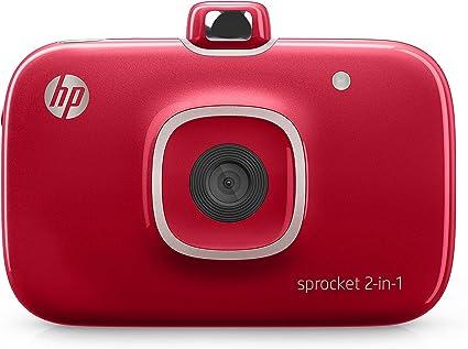Amazon.com: HP Sprocket 2 en 1 Impresora de fotos portátil y ...